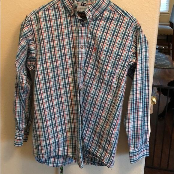 8aac02e8 Ariat Shirts | Pro Series Button Down Shirt Small | Poshmark